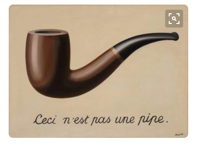 R Magritte Treachery of Images